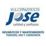 logotipo neumaticos vulcanizados jose