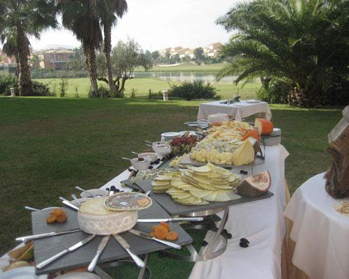Buffet de queso