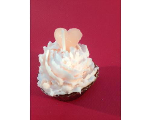 Cupcake corazón