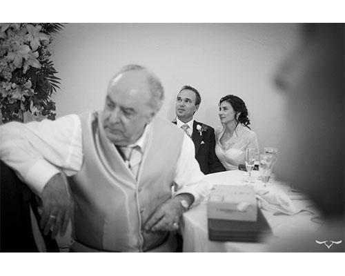 En el banquete