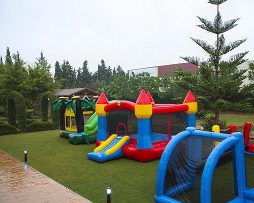 Castillos hinchables para los niños