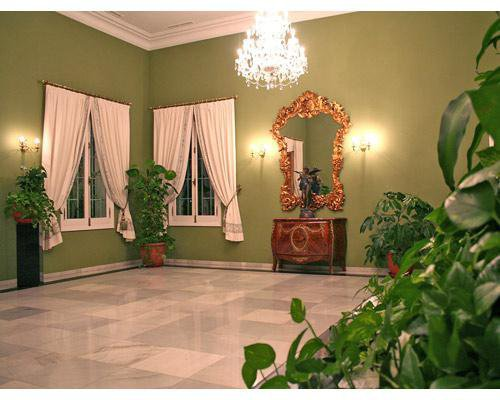 Interior del palacio monte miramar