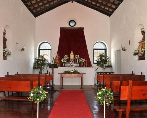 Capilla para bodas religiosas