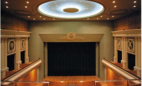 Interior rehabiltación Teatro Cervantes Linares