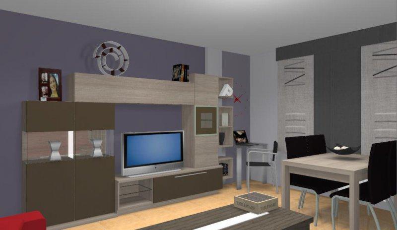 Diseño salon por ordenador