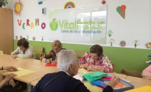 Centro de día en Gijón VitalAstur