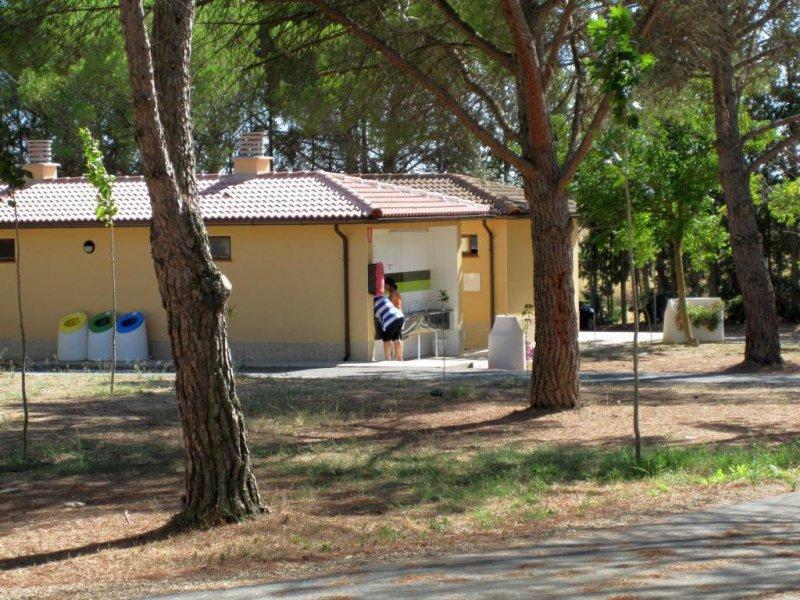 Camping Bolaso Instalaciones