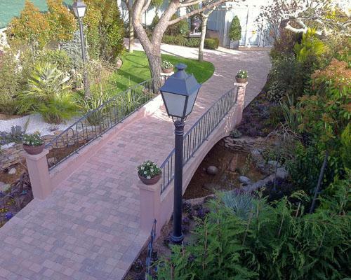 Puente jardines