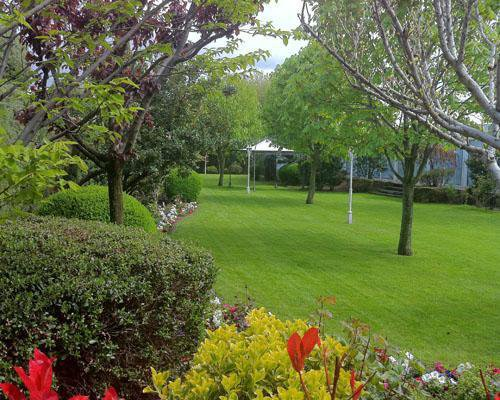 Jardín del cenador