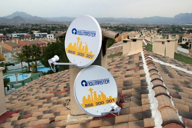 Orientacion parabolica Alicante