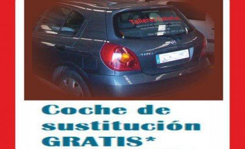 Vehículo de sustitución coste 0€