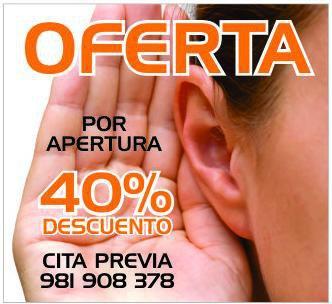 Oferta audipro para audífonos A Coruña