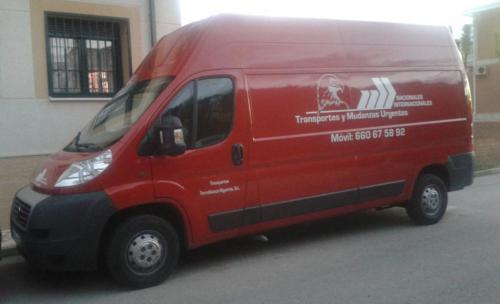 Foto de una de mis furgonetas