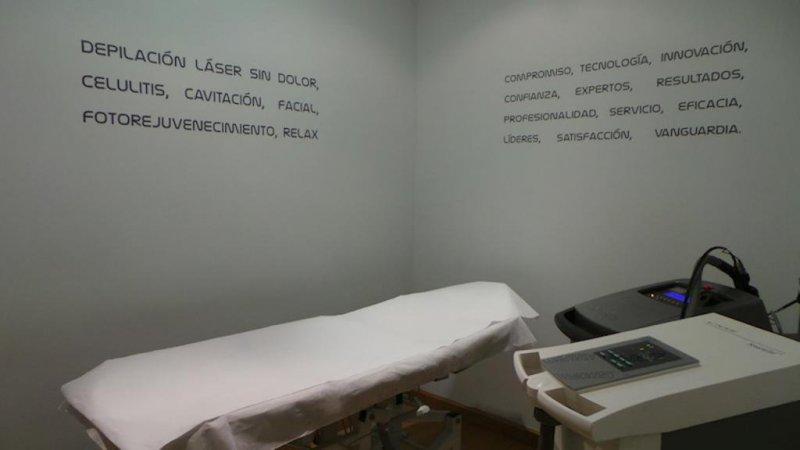 Cabina Depilacion Laser en Madrid