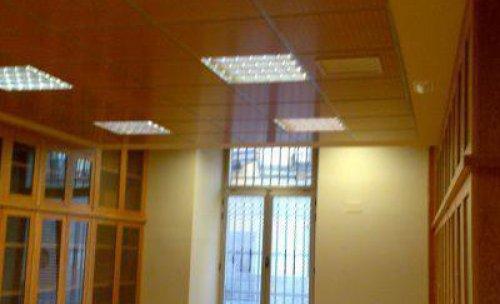reforma con techo de madera