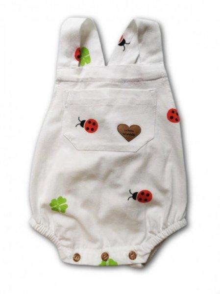 Ranita bebé unisex de algodón orgánico