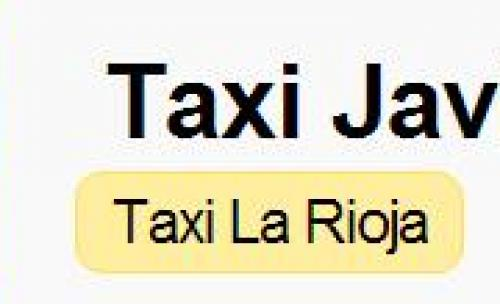 Taxis Javier Gil