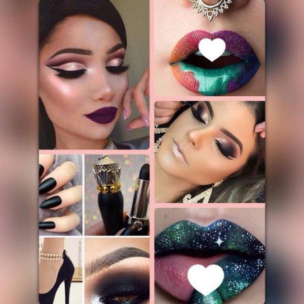 Maquillajes fiesta, novias, glamour