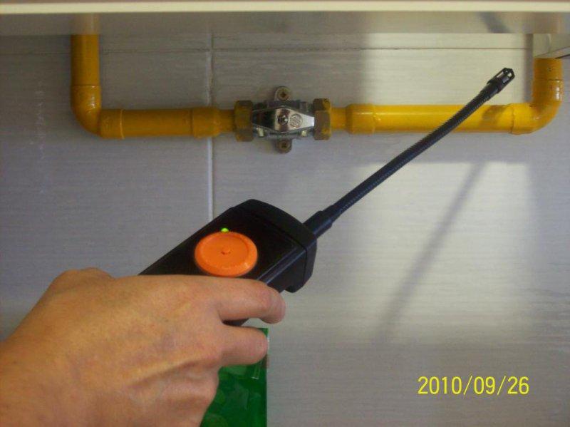 Revisión de fugas de gas en Instalación Individual