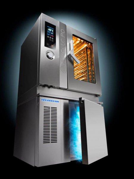 Hornos convención vapor y abatidores de temperatura