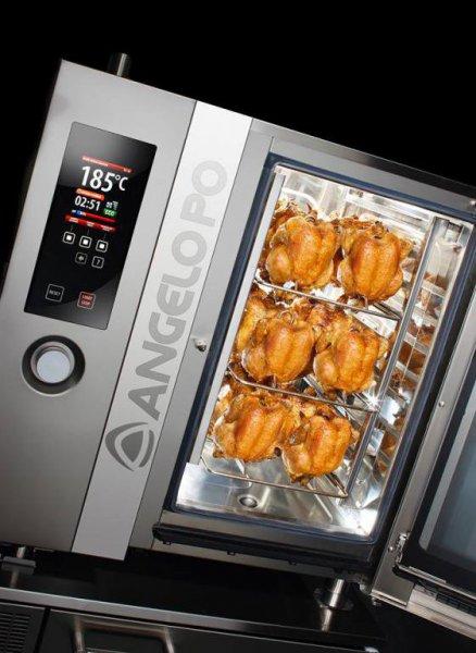 Hornos convención vapor para pollos