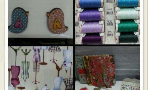 material de patchwork y scrapbooking