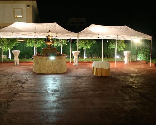 Ceremonias en jardín o en terraza bodega semicubierta (dos ambientes)