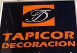 logotipo de la empresa Tapicor Decoracion