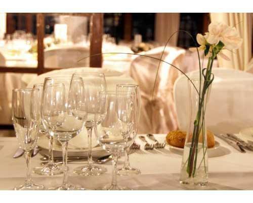 Detalle de mesa para boda