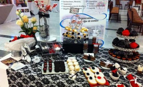 presentación de diversos productos y presentaciones de la empresa