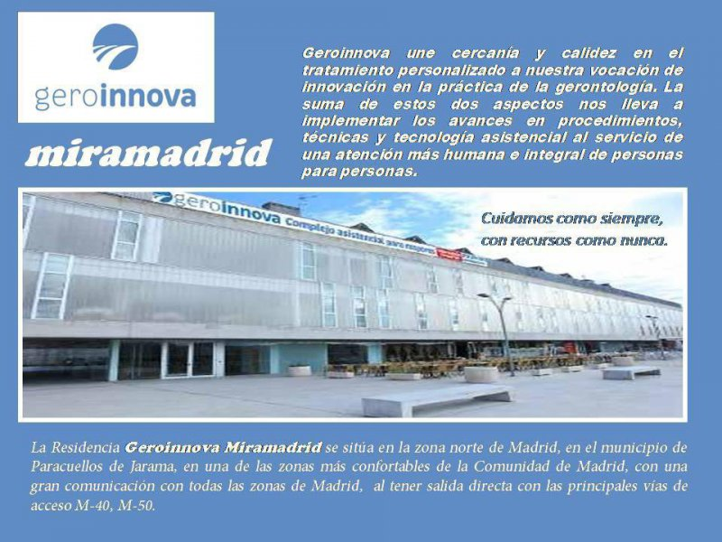 Residencia Geroinnova Miramadrid