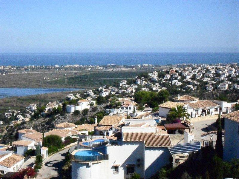 Vistas desde Urbanización Montepego (Pego-Alicante)
