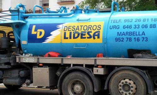 Desatoros Lidesa, desatascos y limpieza de tuberías en Málaga