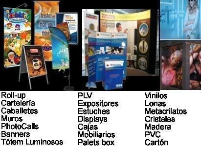 Expositores, PLV, Packaging, Cartelería, Caballetes,