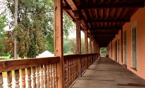 Fachada interior Casona de las Fraguas