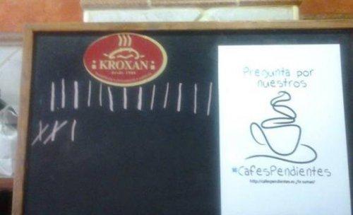 Pregunta por nuestros cafes pendientes