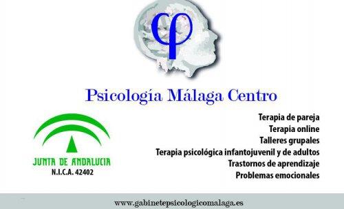 Gabinete de psicología Málaga-centro. Presentación.