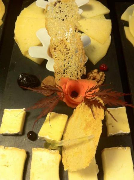 quesos  Restaurante Chacabuco