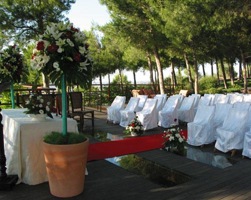 Montaje de ceremonias civiles