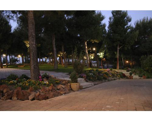 Preciosos jardines para la ceremonia y el aperitivo