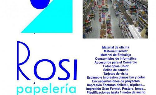 PAPELERIA ROSI, S.L.
