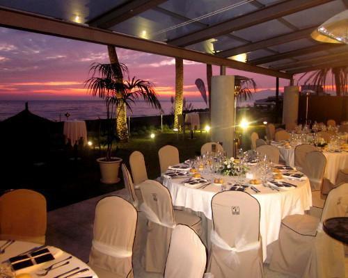 Banquete de la terraza