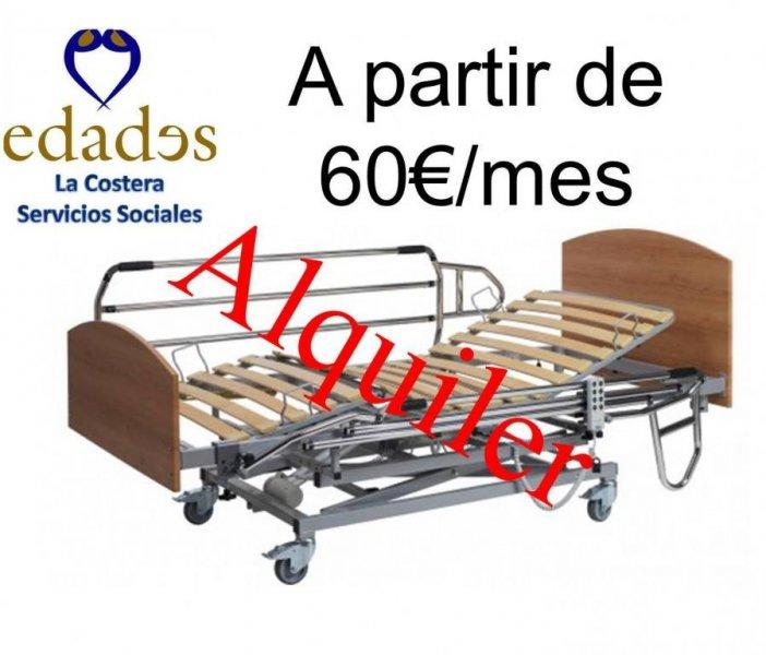 Alquiler de camas eléctricas