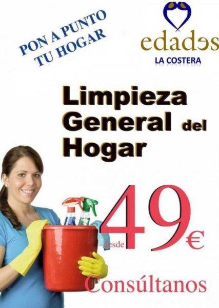 Limpieza Generas desde 49€