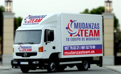 camión Mudanzas Team Córdoba