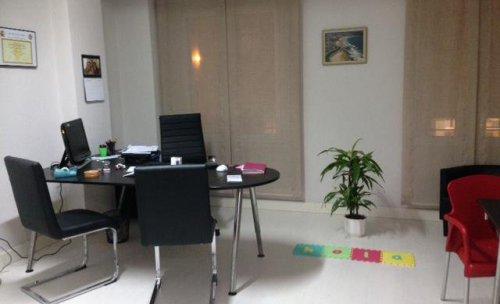 Otra imagen del despacho de Raquel