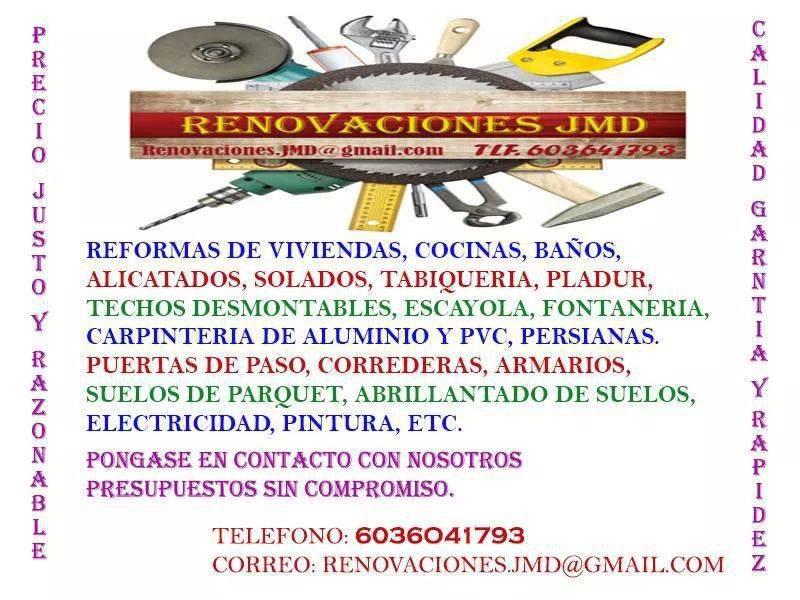 Renovaciones JMD, reformas integrales en Málaga