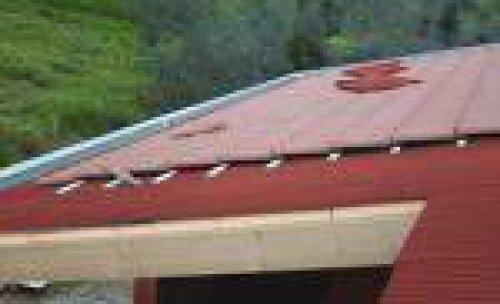 onduline bajo teja para tejado inclinado