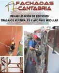 Rehabilitación de fachadas trabajos verticales y andamio modular