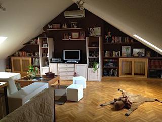Muebles de Pladur y combinación en los colores